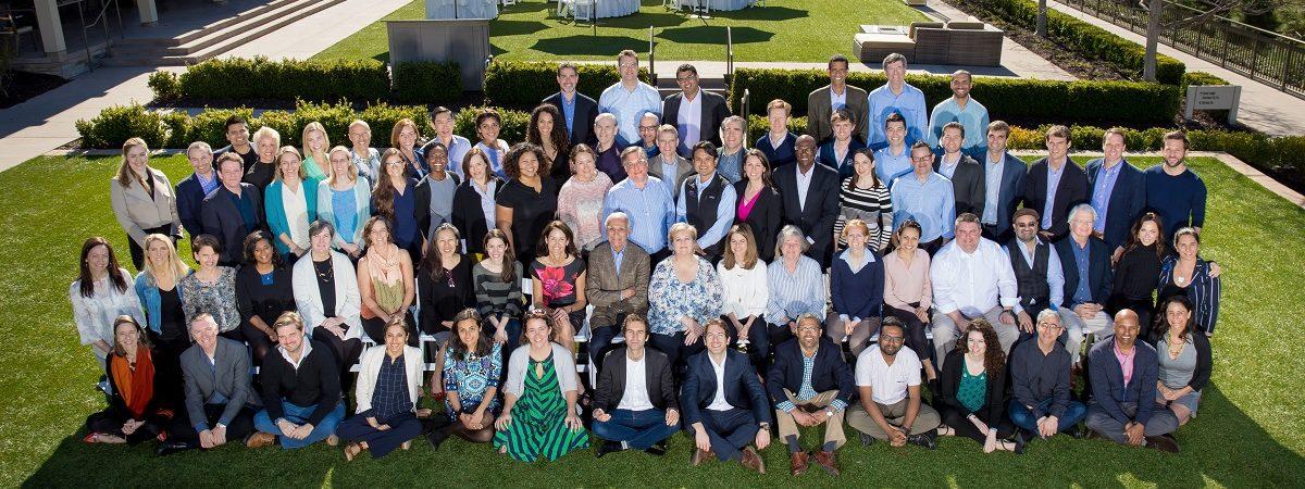 Class photo of all DRK entrepreneurs