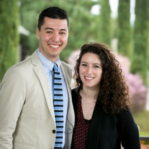 Sam Greenberg and Sarah Rosenkrantz Y2Y entrepreneurs