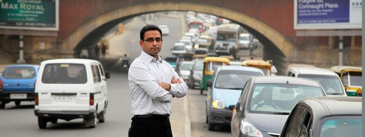 Piyush Tewari established the SaveLife Foundation to reduce India's traffic fatalities, now about 150,000 a year.