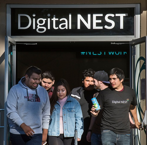 Digital Nest in Watsonville and Salinas, December 6, 2017.