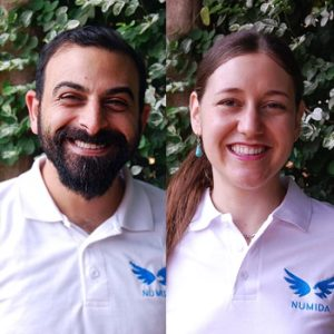 Mina Shahid and Cat Denis Numida entrepreneurs