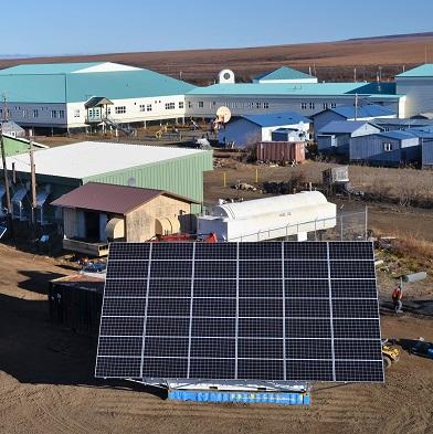 Large pane of solar panels
